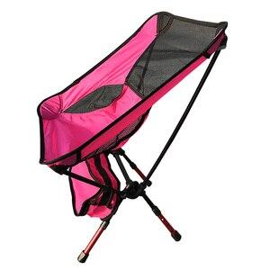 Image 1 - 600D Oxford Tuch Camping Freizeit Stuhl Klapp Tragbare mit Tragen Tasche Laden 150kg