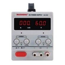 5A 0-30 в Регулируемый устойчивый Источник питания постоянного тока прецизионный переменный цифровой с зажимом для тестовых ремонтных центров школьная лаборатория EU AU Plug