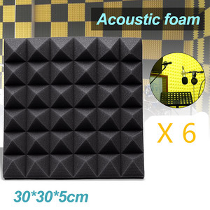 6PCS 30*30*5cm Studio Acoustic