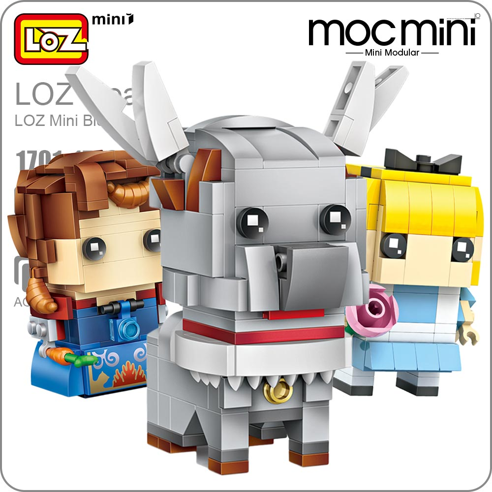 LOZ Mini Blocks Assembly Toy Super Heroes Building Blocks Action Figures Kids Superhero Dolls Toys for Children Bricks 1701-1716