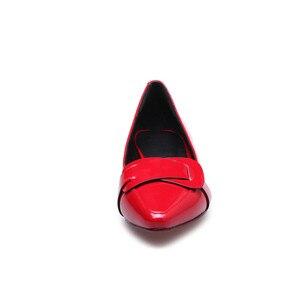 Image 4 - MORAZORA 2020 رائجة البيع أشار تو أحذية الصيف الصلبة موضة pumpe النساء أحذية غير رسمية مريحة منخفضة الكعب مضخات أحذية النساء