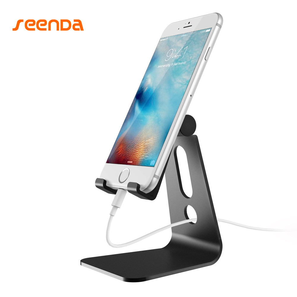 SeenDa Adjustable Phone Holder Universal Mobile Phone Stand For iphone Xiaomi Samsung Cellphone Tablet Stand Smartphone holder