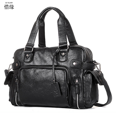 XIYUAN 2017 Luxury Brand Briefcase Leather Handbag Men Bags Office Messenger Bags Man Travel Crossbody Bags male handbags black xiyuan genuine leather handbag men messenger bags male briefcase handbags man laptop bags portfolio shoulder crossbody bag brown