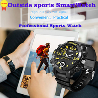 2019 new professional sports smart watch IPX7 Waterproof remote WIFI camera fitness tracker for outdoor sport watch pk Q8 fit 2