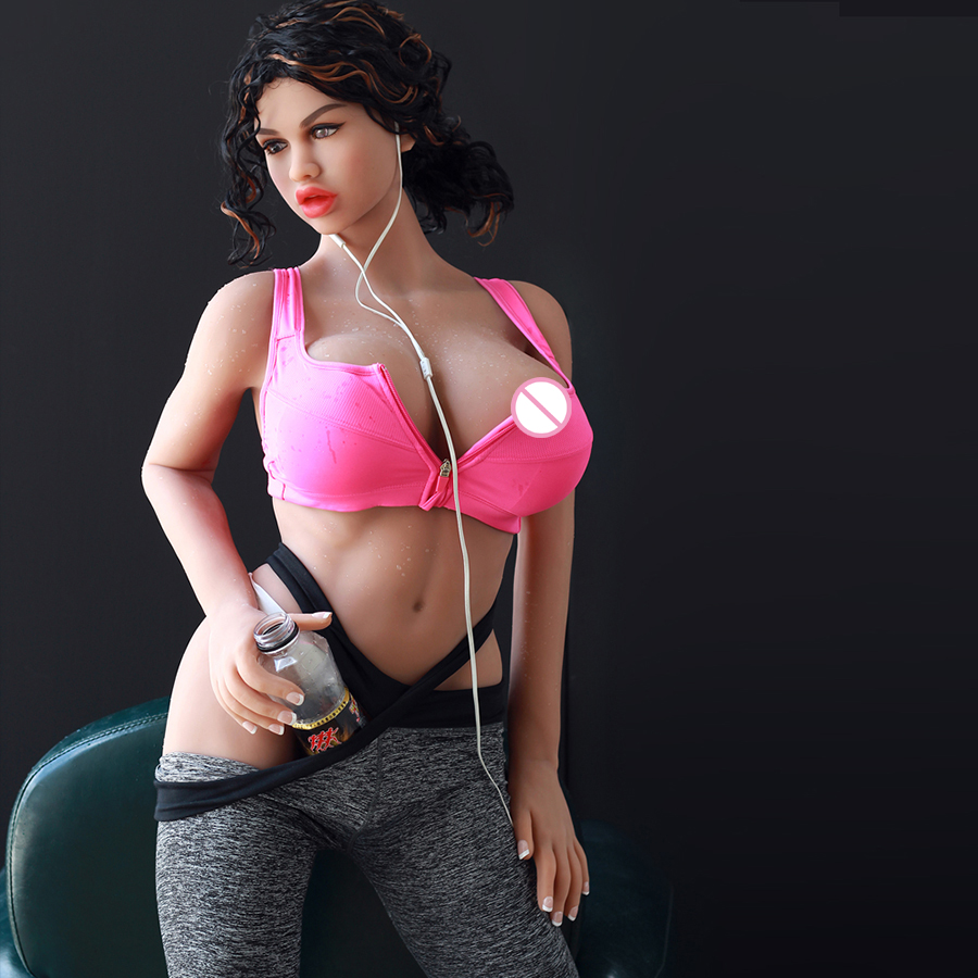 Well Built Adult Love Doll 166cm Muscle Solid Silicone Sex Doll Flexible Skeleton 3 Holes Discreet Shipping in Sex Dolls from Beauty Health
