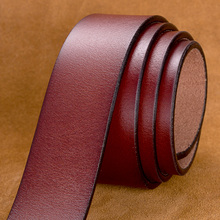 Men's High Quality Genuine Cow Leather Belt