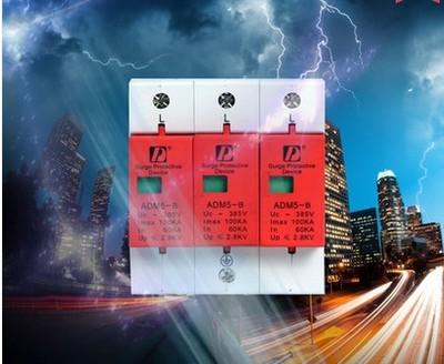 ФОТО  the lightning surge protector surge protector 100KA/3P arrester 385V