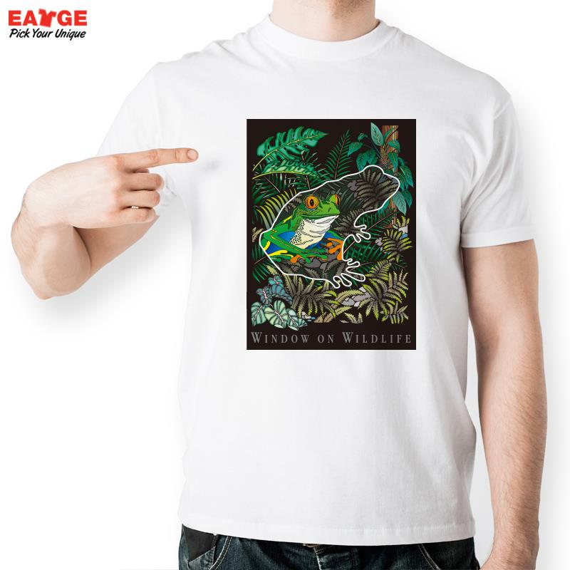 wild life of beautiful frog t shirt design funny window frame t shirt style cool