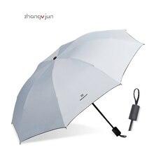 New travel portable mens umbrella mini UV protection rain folding women small tri-fold sun