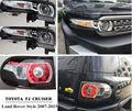 Fábrica de Carros Suportados 2007-2015 Toyota FJ Cruiser lâmpada de Cauda Luz da lente Do Projetor Do Farol com Grades