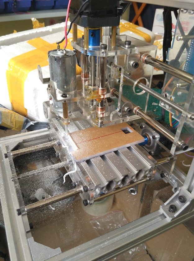 Diy CNC engraving machine , working area 130*100*40mm ,PCB Milling Machine CNC Wood Carving Mini Engraving router PVC eur free tax cnc 6040z frame of engraving and milling machine for diy cnc router