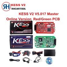 Online Rot EU Version KESS V5.017 V2.23 Kein Tokens Begrenzung Kess Master HW 5,017 Kess V2 Obd2-manager Tuning Kit 5017 ECU programmierer