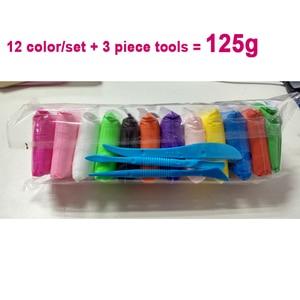Image 4 - 36 색 라이트 소프트 클레이 DIY 완구 어린이 교육 에어 드라이 폴리머 Plasticine 안전 다채로운 라이트 클레이 장난감 아이들에게 선물