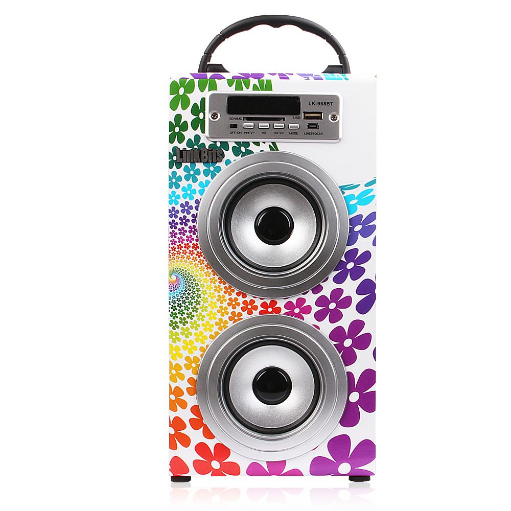Altavoz bluetooth portatil equipo de musica estereo for Altavoz de musica