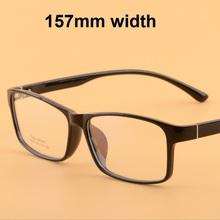 Vazrobe 157mm Men s Prescription Glasses Oversized Man Women Optical 1 56 1 61 1 67