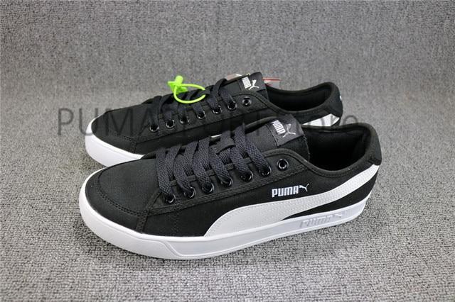 bbf059e43ca396 2018 New Arrival Puma SMASH V2 VULC CV Man s and Women s Sports Leisure  Sneakers Badminton shoes Size 35.5-44