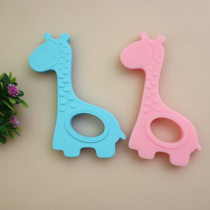 NEUE Baby Beißringe Kinder Silikon Beißen Spielzeug kinder Rasseln - Säuglingspflege - Foto 2
