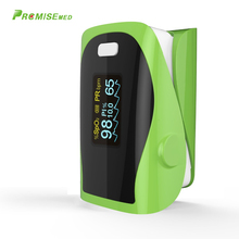 PRCMISEMED Household Health Monitors Pulsioximetro Finger CE Pulso Oximeter SPO2 Heart Rate Monitor LED Fingertip-Green