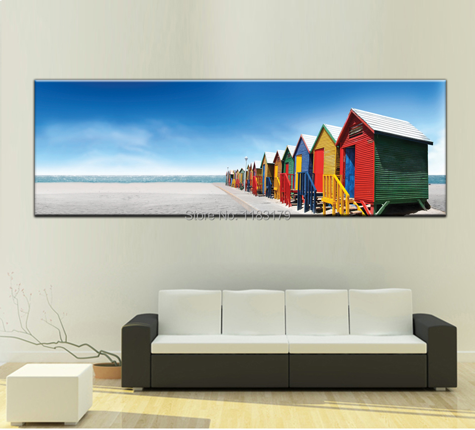 popular cheap beach homes buy cheap cheap beach homes lots from order 1 set painting canvas wall art picture print for home living room photo 1 panel gift decoration
