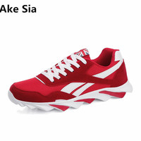 Ake Sia 2018 High Quality New Men S Shoes Blade Bottom Men S Casual Shoes Fashion