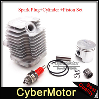 40mm Cylinder Head 10mm Piston L7T Spark Plug For 47cc 2 Stroke Engine Chinese Pocket Dirt Bike Mini Quad ATV Quad 4 Wheeler