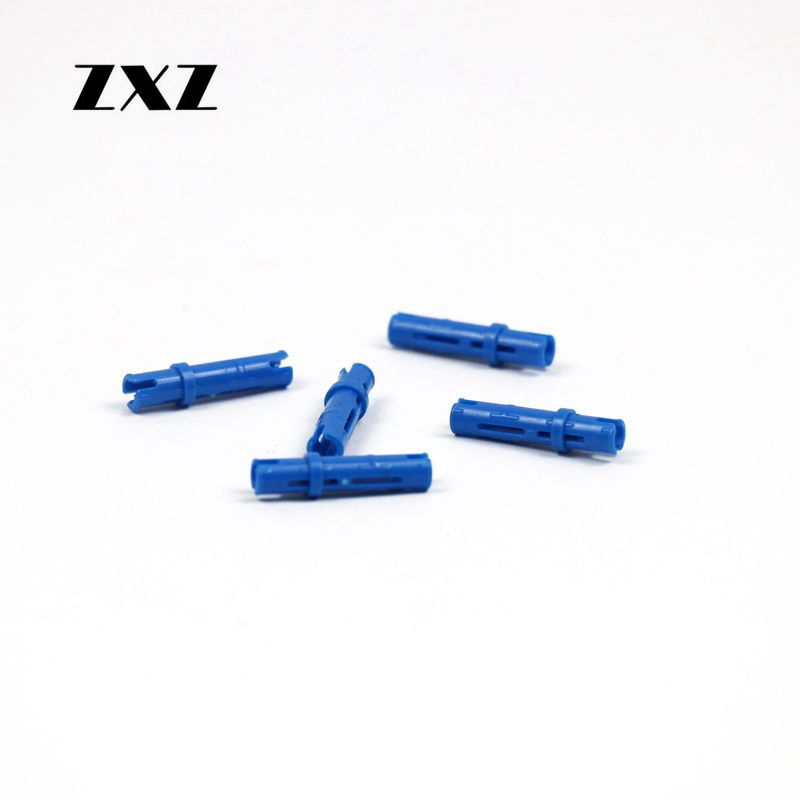 Blue Technic Friction Pin Size 3 Brick 6558 Lot of 20 NEW LEGO PARTS