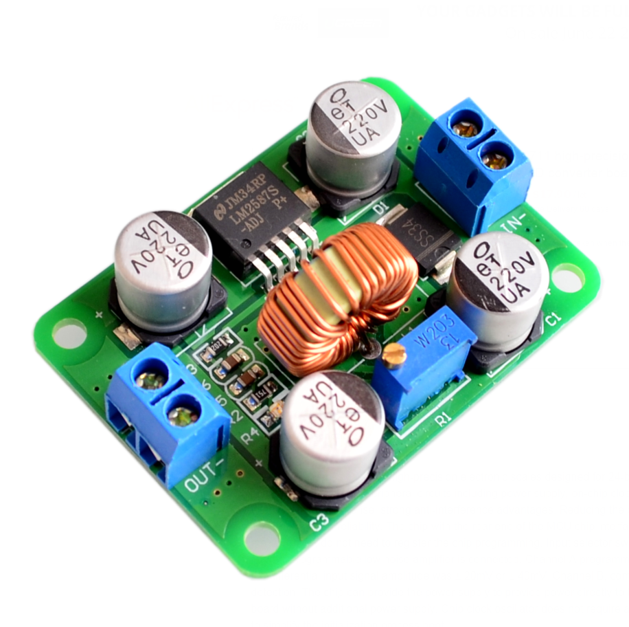 ! 10pcs/lot Lm2587 Dc-dc Power Modules Boost Module Over Lm2577 (peak 5a) Dc Step-up Converter Module