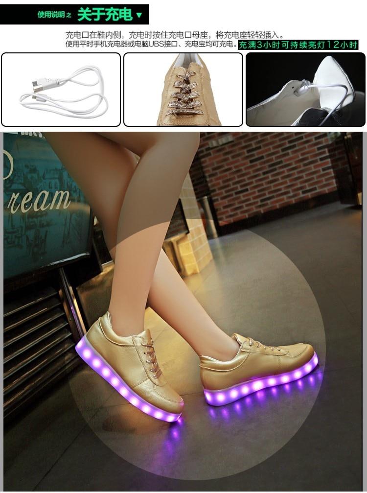 High Quality led light up shoes
