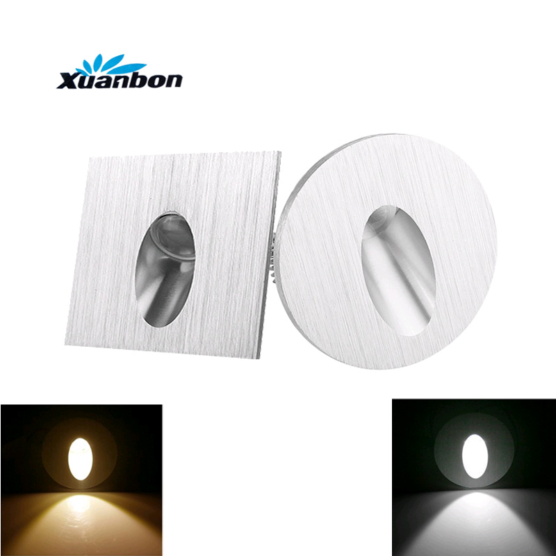 Commercial Basement Stair Lighting: Aliexpress.com : Buy AC85 265V Wall Lamp 1W LED Recessed