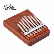 Zebra Unique 8 Key Finger Piano Mbira Kalimba Thumb Piano Rosewood Idea Fun Gift Traditional African Music Instrucments