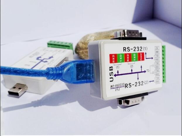 free ship ,Usb converter,Usb to 2 232,USB to 2 com port ,Usb to 2 TTL serial ports with FTDI CHIP