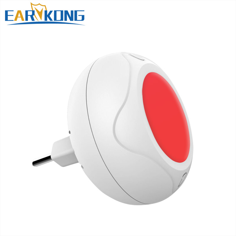 Mini 433MHz / 315MHz Wireless Alarm For Home, Strobe Siren, Flash Light, System Alarm For Our Home Burglar System,