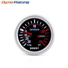 Dynoracing 2 ''52 мм Универсальный Дым Лен Turbo Boost Gauge PSI указатель повышение Калибр 12 V светодиодный цифровой указатель метр автомобилей gauge BX101309