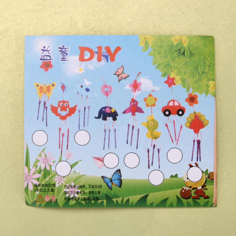 Multicolor Bambini Childre FAI DA TE Campanelli Eolici Campanelli Eolici Educativo Di Puzzle Di Giocattoli Artigianali Kit di Giocattoli Per I Bambini di Consegna Casuale