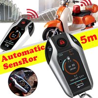 5M Automatic Sensor 2 Way Engine Start Motorcycle Bike Scooter PKE Alarm System Anti theft Security Remote Control Alarm Lock