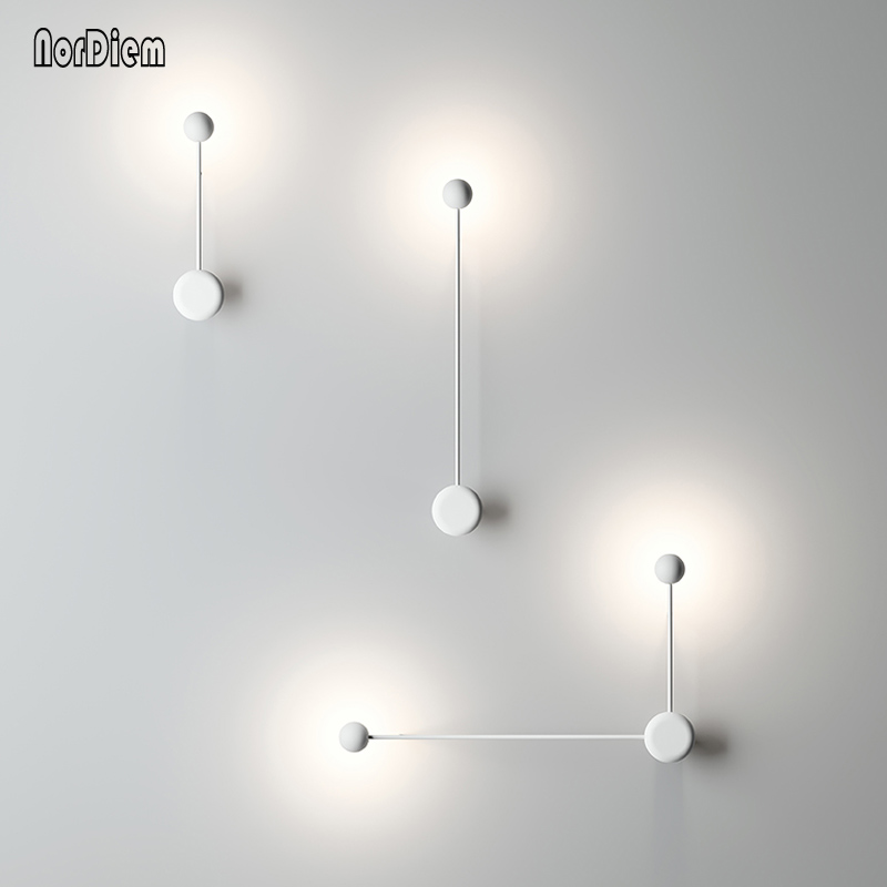Modern LED bedroom wall lamp light designer Corridor Lamps Hotel Hall Aisle LED Wall Lighting Slaapkamer bed lights cross star lighting alloy aluminium wall light lamps 12w ac 85v 265v corridor aisle light hotel led spotlight bar ktv decor