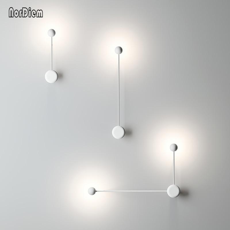 Modern LED wall lamp light for bedside designer Corridor Lamps Hotel Bedroom Hall Aisle LED Wall Lighting Slaapkamer bed lights цена и фото