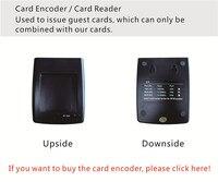 SL16 064 кодировщик карт/кард ридер с гостиничная система для RFID карты электронный дверной замок