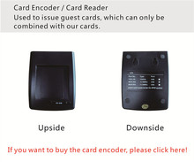 SL16 064 Card encoder / Card reader with Hotel System for RFID Card Electronic Door Lock