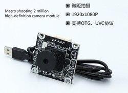 1080 P 2 mln sprzętu pikseli Micro-moduł kamery USB2.0 bez kierowcy wsparcie OTG UVC protokołu