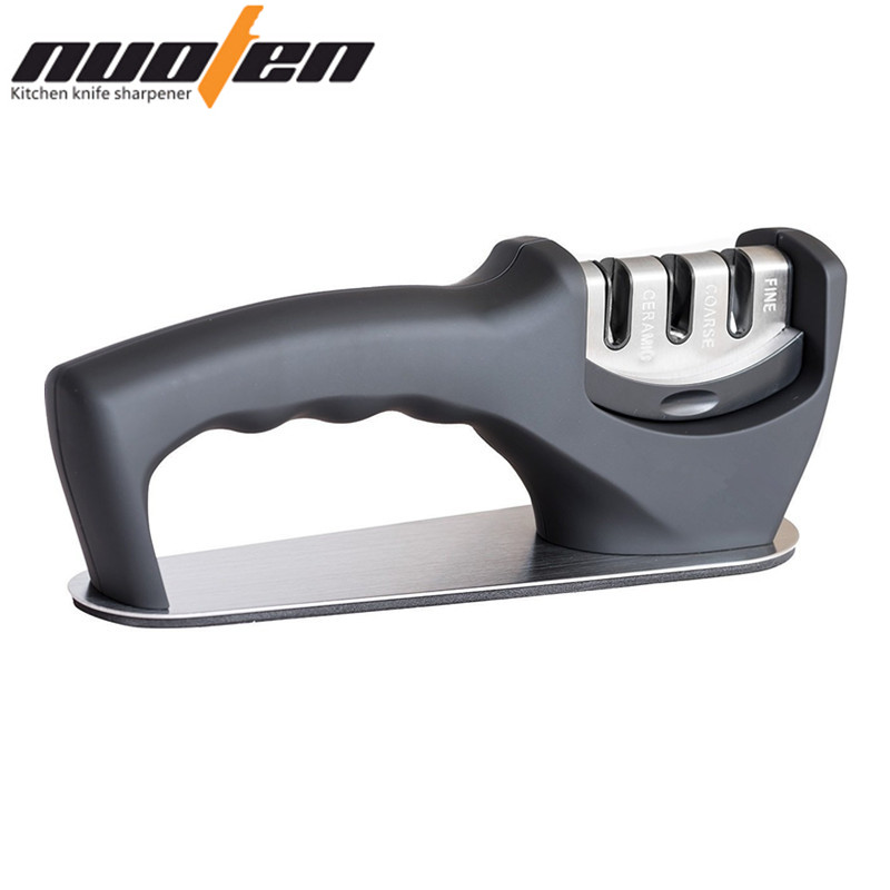 NUOTEN Brand Knife Sharpener Pisau Keramik Sharpening Diamond Grinding Wheel Tungsten Steel Matel Amolador De Faca