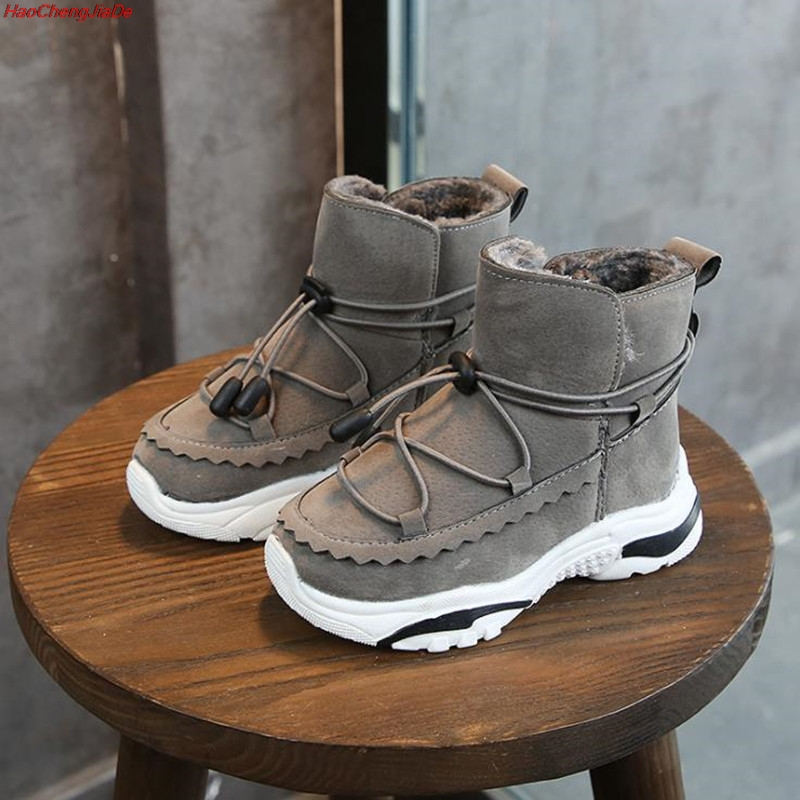 Boys Boots Shoes Winter Kids Sneakers Fashion Child Sport for New