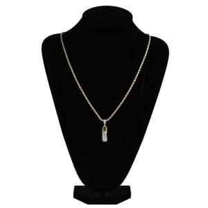 Image 5 - Ожерелье с подвеской TOPGRILLZ в стиле хип хоп, для мужчин и женщин, ожерелье с обувью, медным покрытием, микро покрытием, с фианитами, золотого цвета