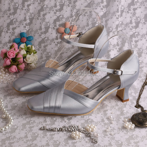 Silver Shoes 2 Inch Heel Promotion-Shop for Promotional Silver ...