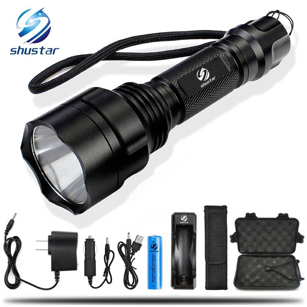 LED Flashlight CREE XML-T6/L2 Torch 8000s