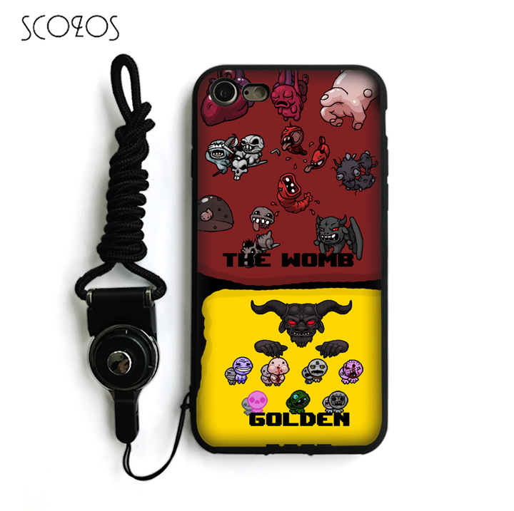 170f8d235e6825 SCOZOS The Binding of Isaac Silicone TPU Phone Case Soft Cover For IPhone X  5 5S Se 6 6S 7 8 6 Plus 6S Plus 7 Plus 8 Plus  ka226-in Fitted Cases ...