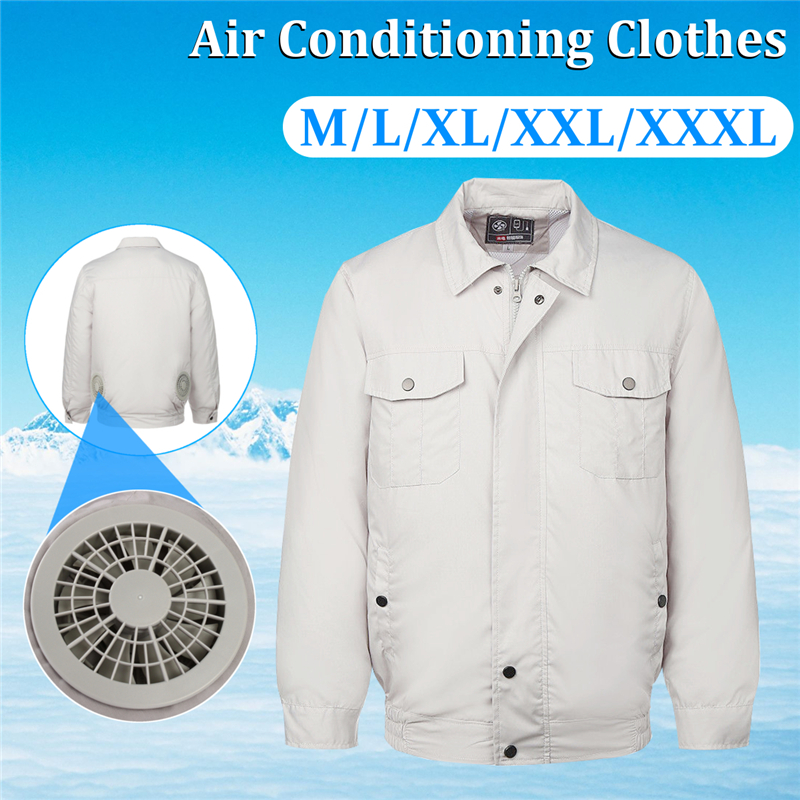 Outdoor Air Conditioning Clothes Cooling Conditioned Fan Work Staff Jacket Summer Hot High Temperature Fishing Hunting чайные принадлежности fan work geming