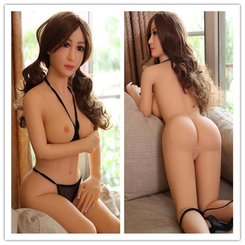 Tpe Sex Lutka 140cm življenjska velikost Real Soft Sex Doll Asian Love-4258