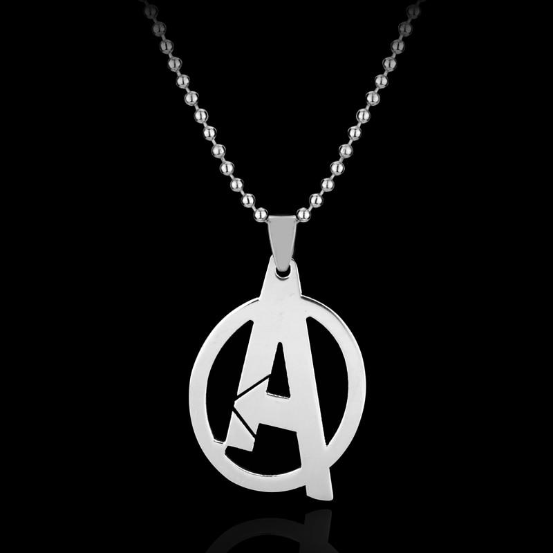 RJ joyería de moda Simple The Avengers 3 collares de alta calidad - Bisutería - foto 2