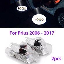 2 шт. led дверь логотип светильник для Toyota Prius 2006- Toyota логотип лазерный проектор светильник Ghost Shadow светильник аксессуары
